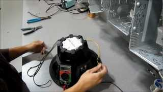 How to wire 2 DVC 4ohm subwoofers bridged 2 ch. amp. Watch in HD!