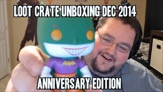 LootCrate Unboxing - Anniversary Crate December 2014!