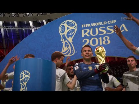 FIFA 18 World Cup 2018 Final - Germany Vs Spain 2-1 Gameplay PS4 1080p 60fps