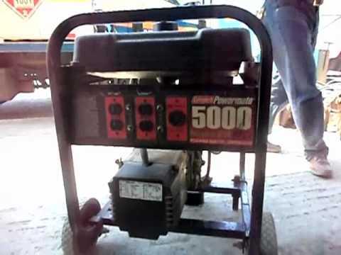 Planta de luz 5000w youtube - Generador de luz ...