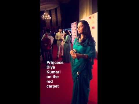 Princess Diya Kumari of Jaipur - effortlessly elegant as always!