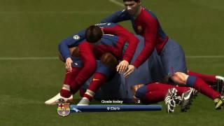 Pes2009 - Man Utd Vs Barcelona