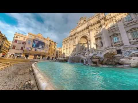 Le fontane pi belle di roma virtual video 360 hdr for Le piu belle fotografie
