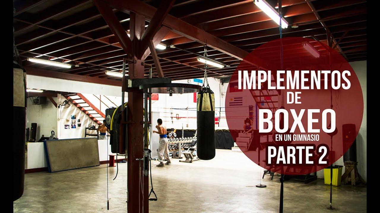 Implementos de boxeo en un gimnasio ii youtube for Gimnasio 9 de julio