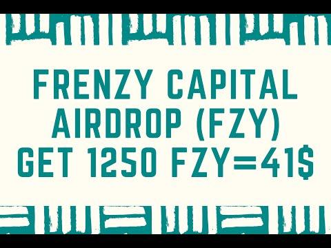Frenzy Capital Airdrop - Получите 1250 FZY tokens = 41$ / Криптовалюта бесплатно / Crypto Free