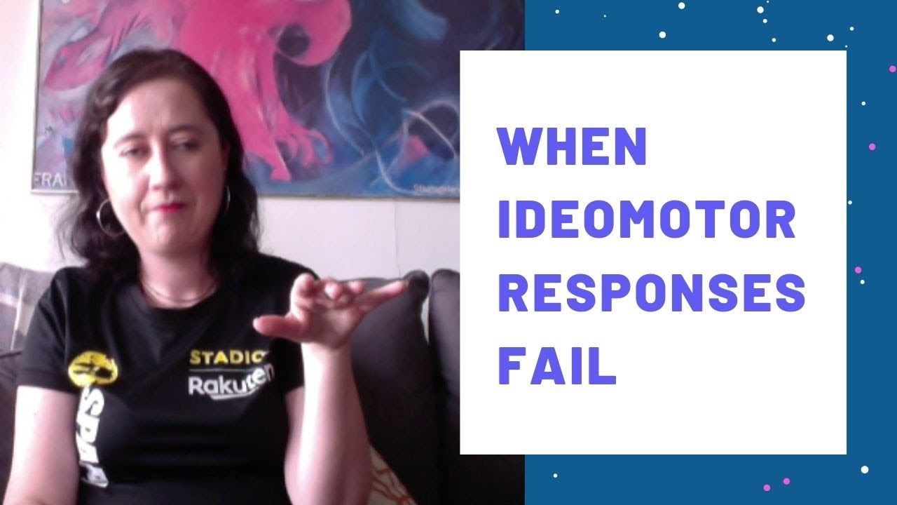 When Ideomotor Responses Fail