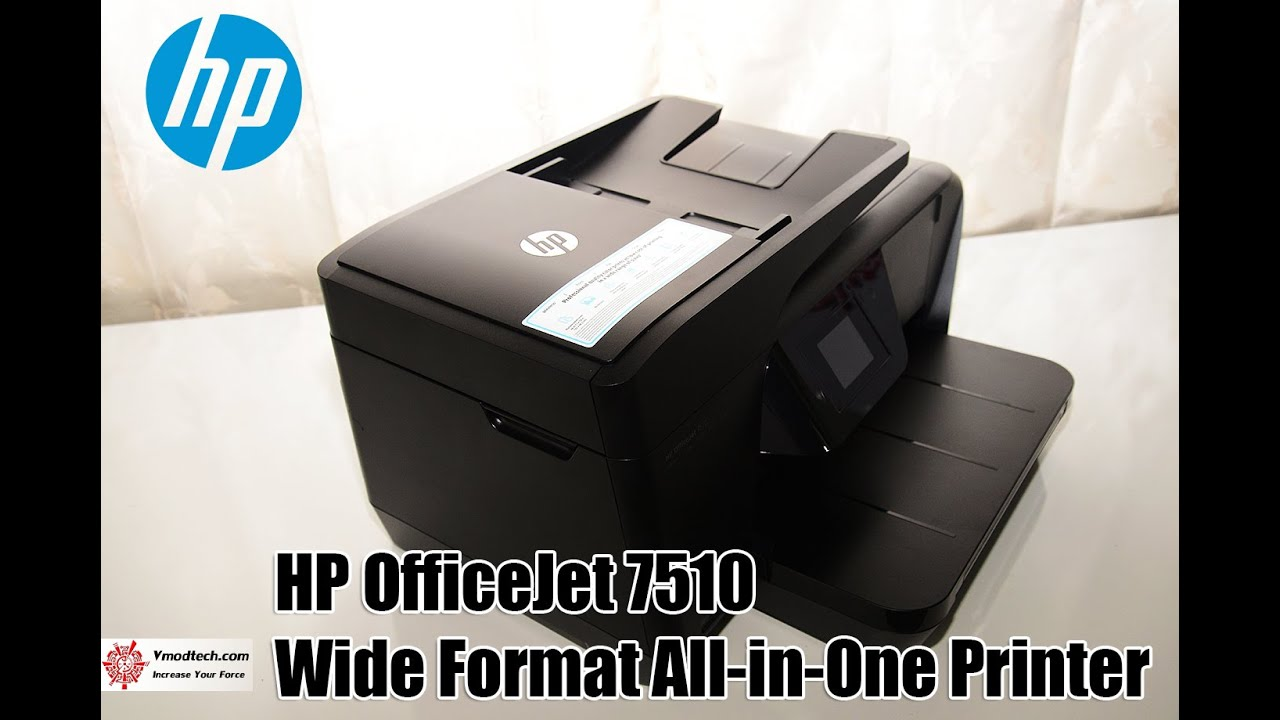 Hp Officejet 7510 Wide Format All In One Printer Review
