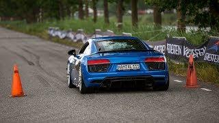 Audi R8 V10 Plus with Capristo Exhaust - LOUD Revs & Accelerations !
