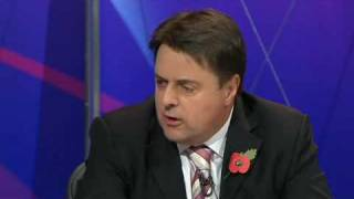 BNP on Question Time (Thu, 22 Oct 2009) Part-1/6