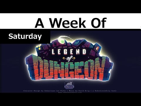 Week of Legend of Dungeon! [Saturday- Throw That On The Ground]