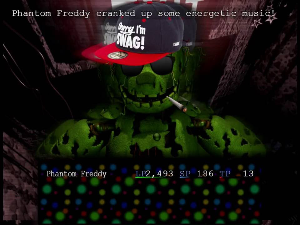 If you experience any bugs,. Fnafb Stuff Things Springtrap By Mojosoup
