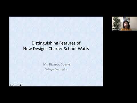 New Designs Charter School Watts High School New Parent Orientation