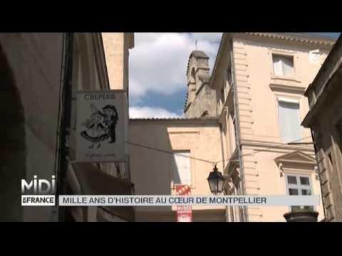Suivez le guide : Mille ans d'histoire au coeur de Montpellier