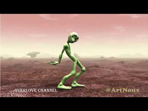 Alien dance dame ko ceta. Aaah