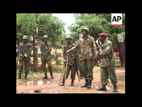 Clashes between opposition supporters and police in Kibera and Kisumu