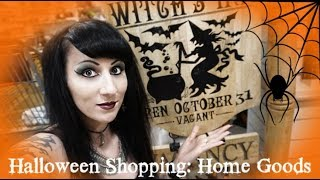 Halloween Shopping and Haul: Home Goods 2019