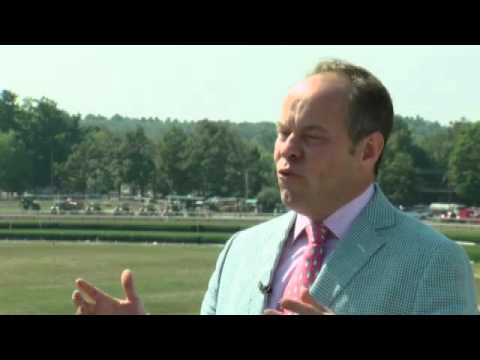 Larry Collmus: Saratoga Race announcer