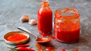 Slik lager du Sriracha