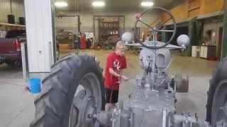 Farmall McCormick International Harvester H Tractor Refurbishment Restoration Project