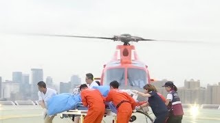 Hospital uses 5G technology for disaster medical rescue for first time