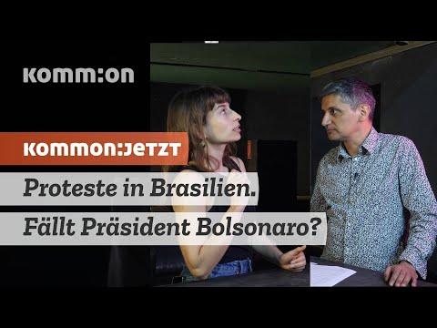Proteste in Brasilien. Fällt Präsident Bolsonaro?