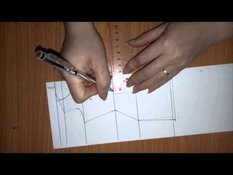Cách cắt áo dài cách tân (phần 1)_How to cut Ao Dai (part 1)