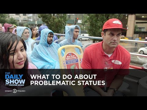 What to Do About Problematic Statues – The Daily Show