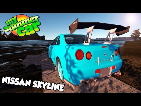 O DOIDO DO 21 COMPROU UM NISSAN SKYLINE! My Summer Car