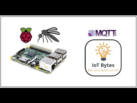 Mosquitto MQTT Broker on Raspberry Pi – IoT Bytes