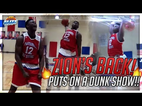 "Zion Williamson Dunk Show! RETURNS w/ 31 Points! ""I'm BACK! Been Out Too Long"""