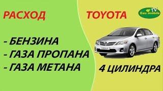 Расход бензина, газа (пропан - бутан, метан) на 4-х цилиндровом авто.(, 2015-02-21T05:35:44.000Z)