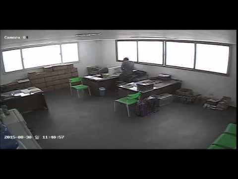 Michael Garcia Caught on CCTV stealing Computers