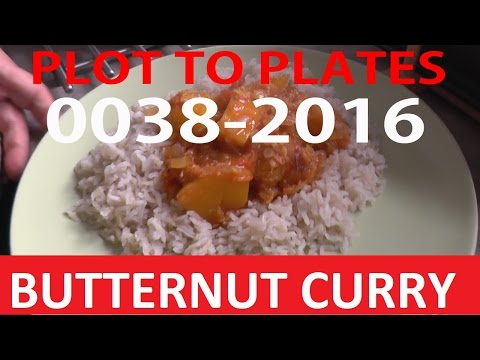 BUTTERNUT CURRY- 0038-2016 | Plot to Plates | Allotment Gardening