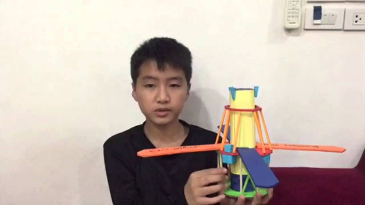 Science project : Artificial satellite model. - YouTube