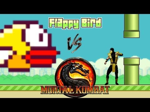 Flappy Bird vs Mortal Kombat