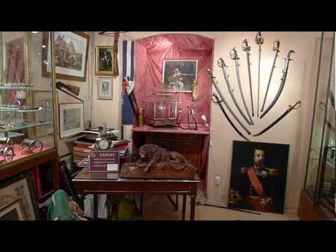 French Militaria shop in Versailles