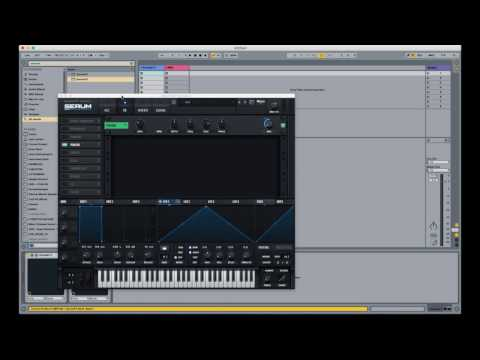 How to enable Serum FX modulation.