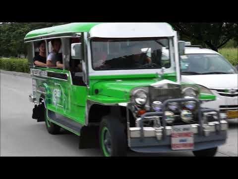 Driving the Electric Jeepney Prototype in Manila