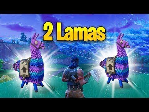 Finding  Lamas In Fortnite Same Game