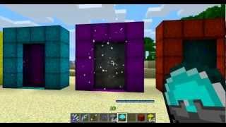 Minecraft Divine RPG Mod 1.4.7: How to Make Portals