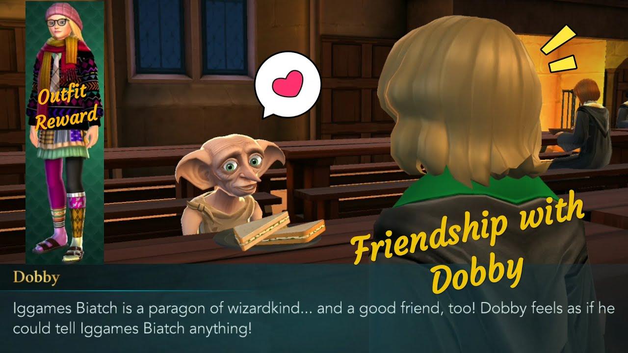 Friendship With Dobby Harry Potter Hogwarts Mystery Youtube