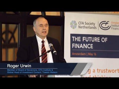 The Future of Finance Symposium: Roger Urwin (speaker)
