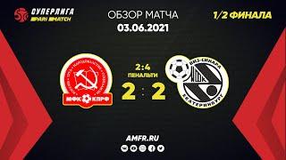 Париматч Суперлига 1 2 финала КПРФ Синара 2 2 Пен 2 4 Матч 3