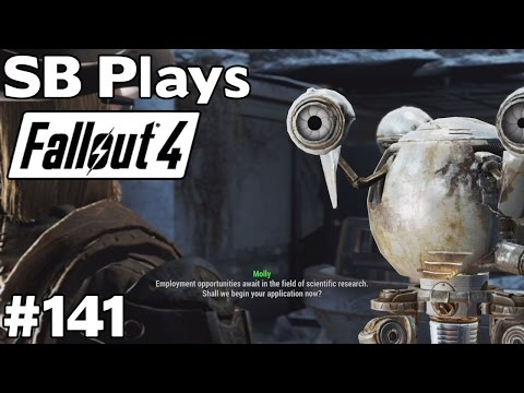 Employment Opportunities at Cambridge Polymer Labs - SB Plays Fallout 4 [ep141]