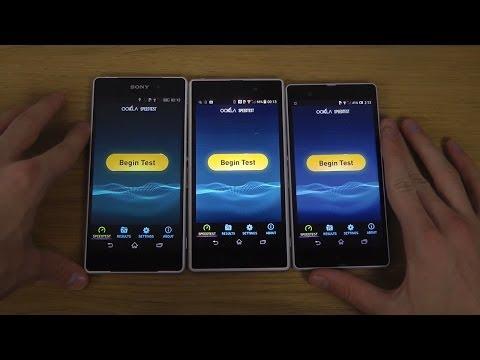 Sony Xperia Z2 vs. Sony Xperia Z1 vs. Sony...