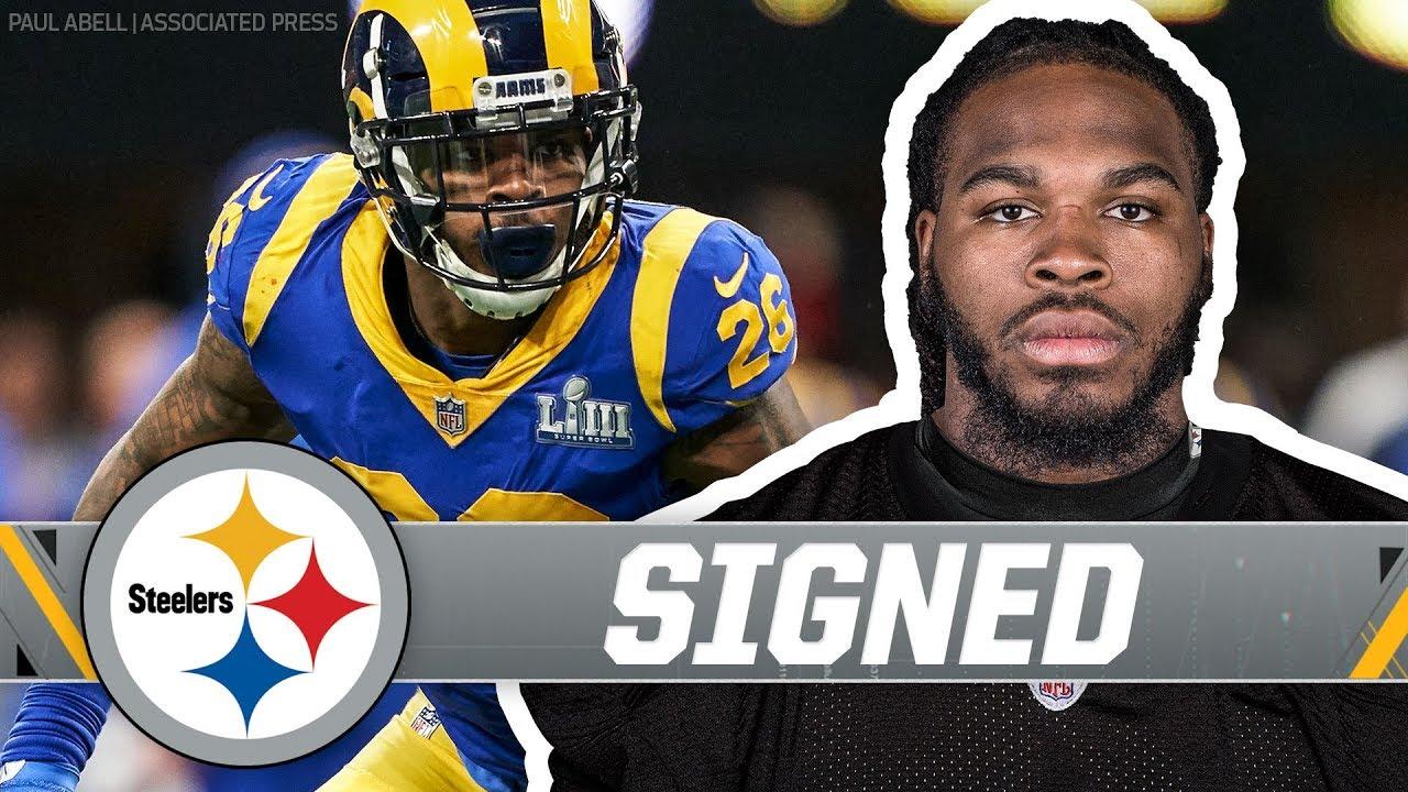 wholesale dealer f7f83 dc296 Pittsburgh Steelers Sign Linebacker Mark Barron | NFL Free Agency