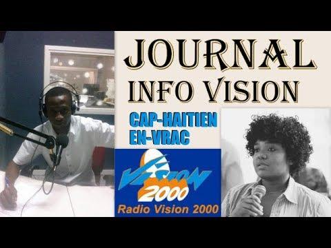Journal Info Vision Samedi  2 DECEMBRE  2017 sur  CAP-HAITIEN EN-VRAC