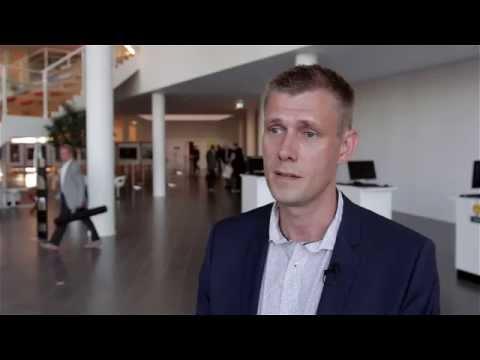 Henrik Lind fra Danske Commodities - Vinder af IT Prisen 2014