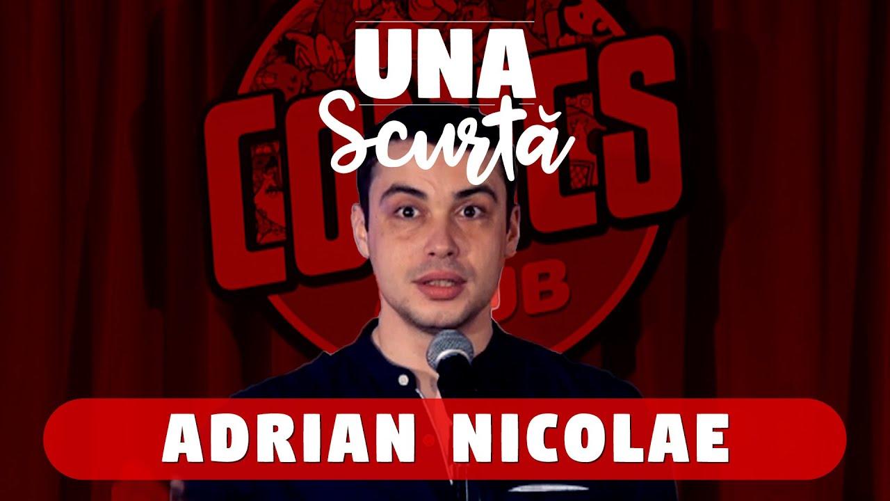 Una Scurtă - Ep. 14 cu Adrian Nicolae