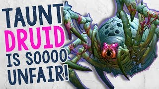 TAUNT DRUID IS TOTALLY UNFAIR | Constructed | The Boomsday Project | Hearthstone